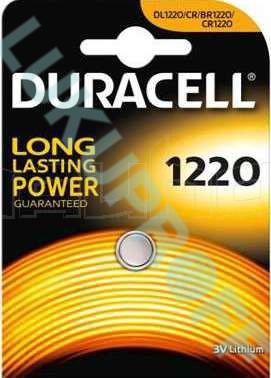 PATAREI DURACELL CR1220 3V