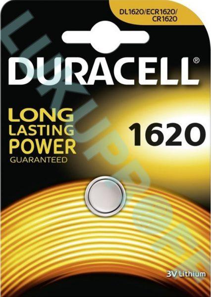 PATAREI DURACELL CR1620 3V